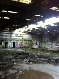 Picture of derelict building